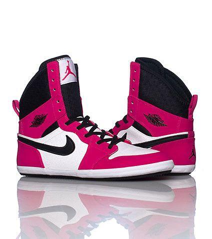 JORDAN GIRLS 1 SKINNY HIGH SNEAKER Pink | Jordans girls