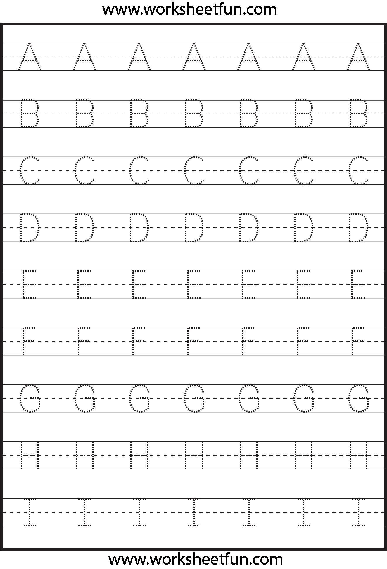 Abc Tracing Sheet