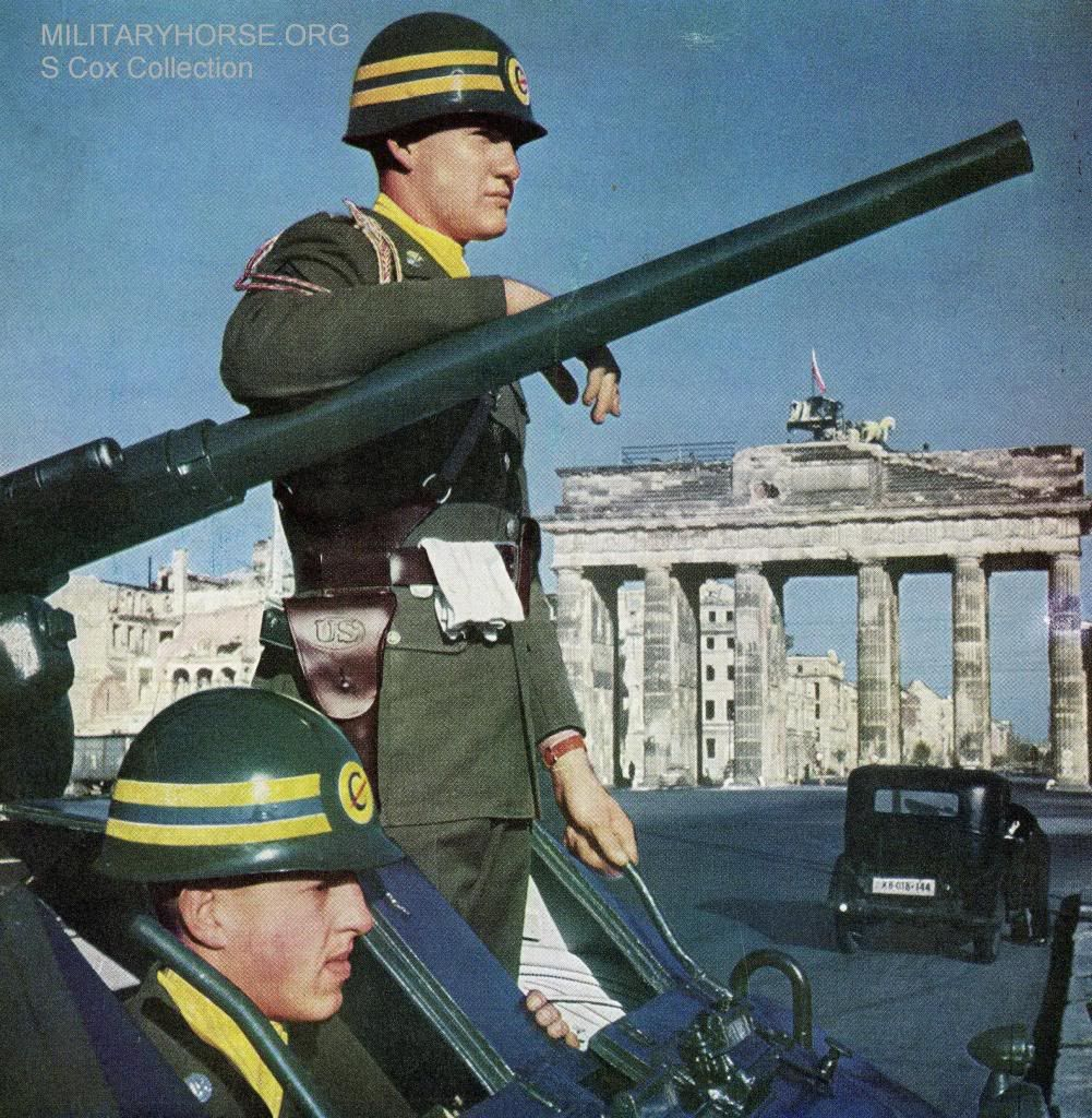 The United States Constabulary was a United States Army military Constabulary force. From 1946 to 1952, in the aftermath of World War II, it acted as an occupation and security force in the U.S. Occupation Zone of West Germany and Austria.
