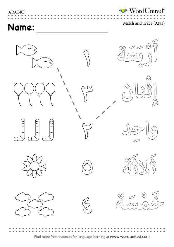 numbers counting arabic mfl eyfs primary reception vocabulary learnarabicworksheets. Black Bedroom Furniture Sets. Home Design Ideas