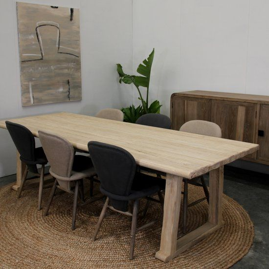 Dining Table - Teak - Timber Dining Table - Satara Australia ...