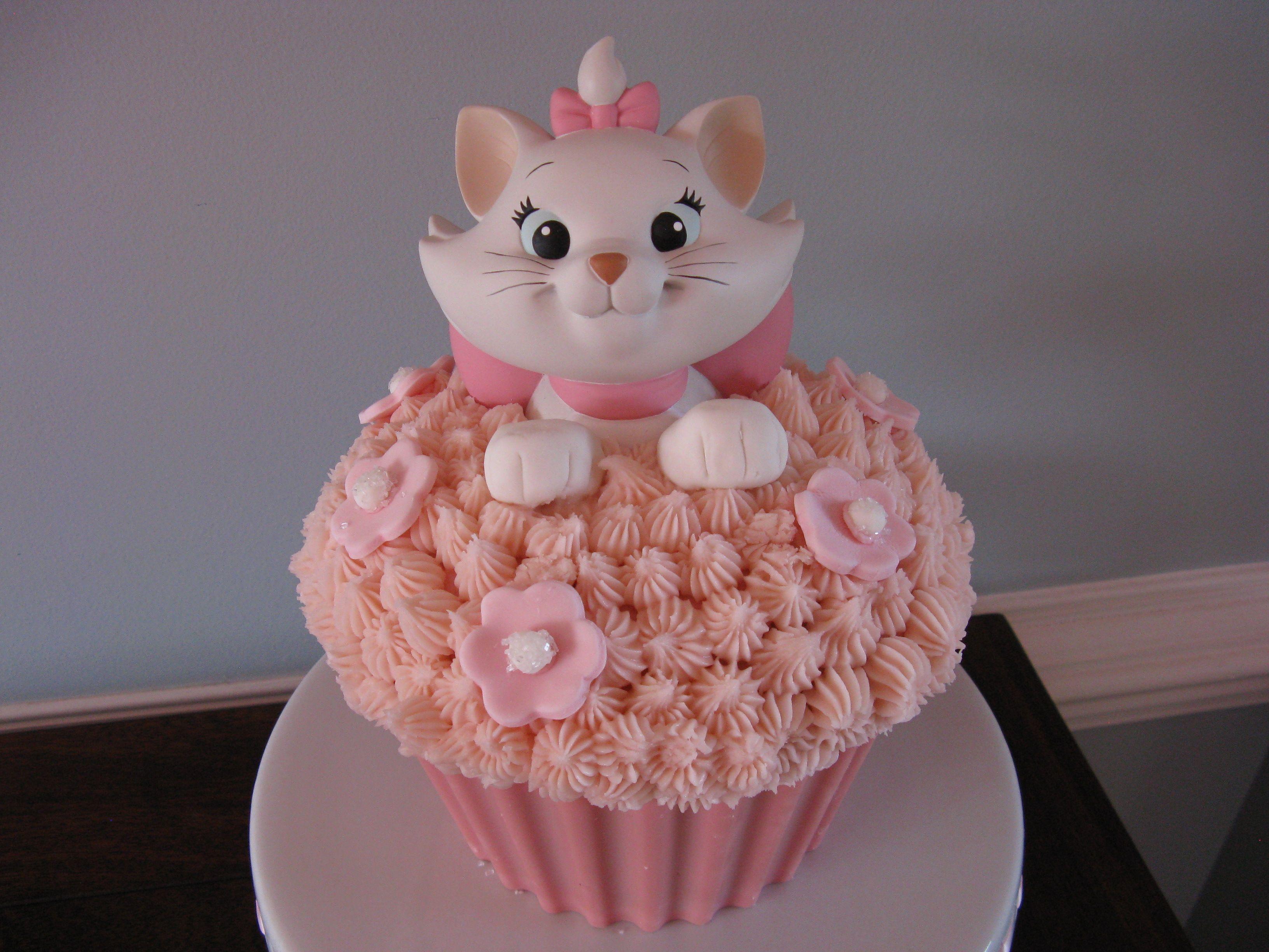 Marie Cake Yo Quiero Uno Asi Cat Cake Disney Cakes Cake