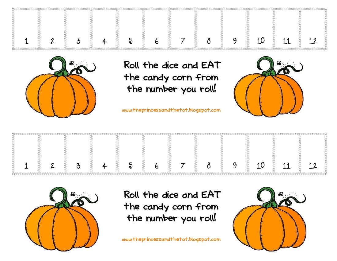 Numbers Game Great For Fall Centers