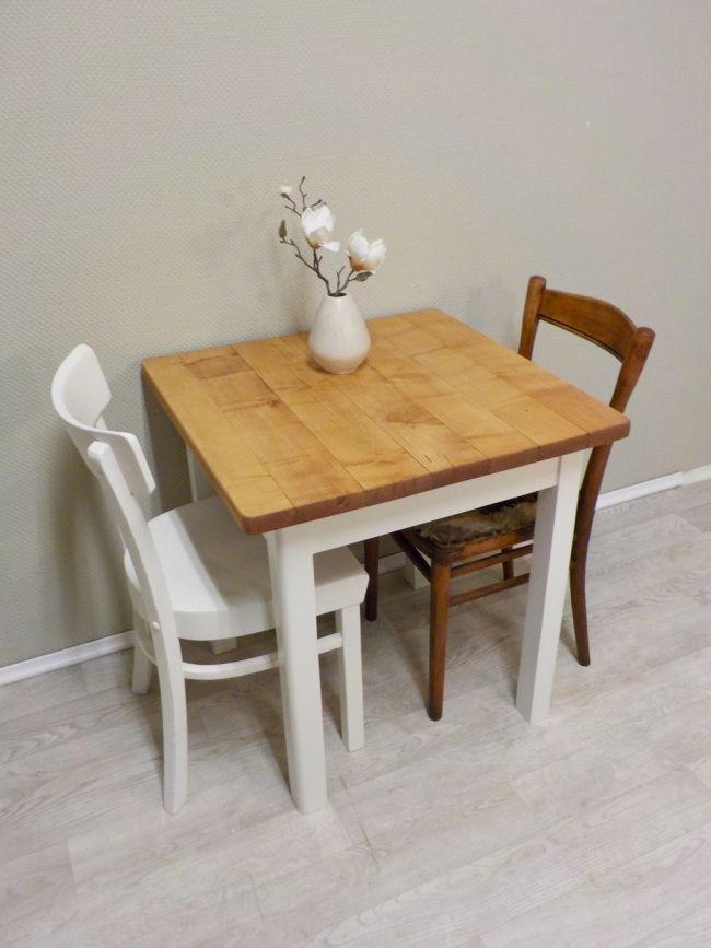 Quadratischer Ahorn Vollholz Esstisch Esstisch Kleiner Esstisch Tisch
