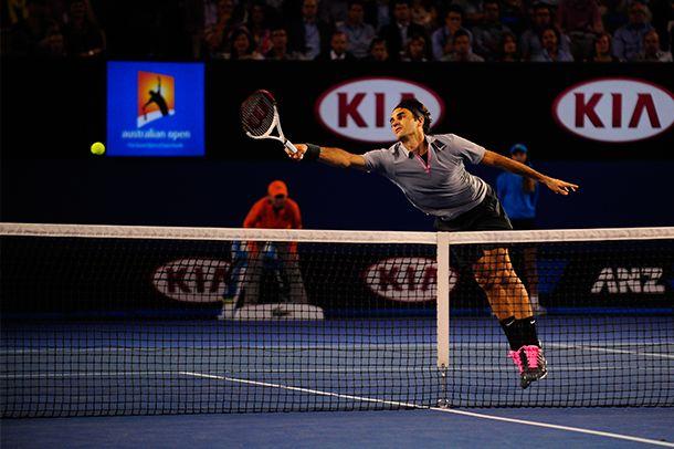 Roger Federer Jan.23,2013