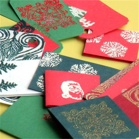 Handmade Holiday Gift Tags by Wilde Designs