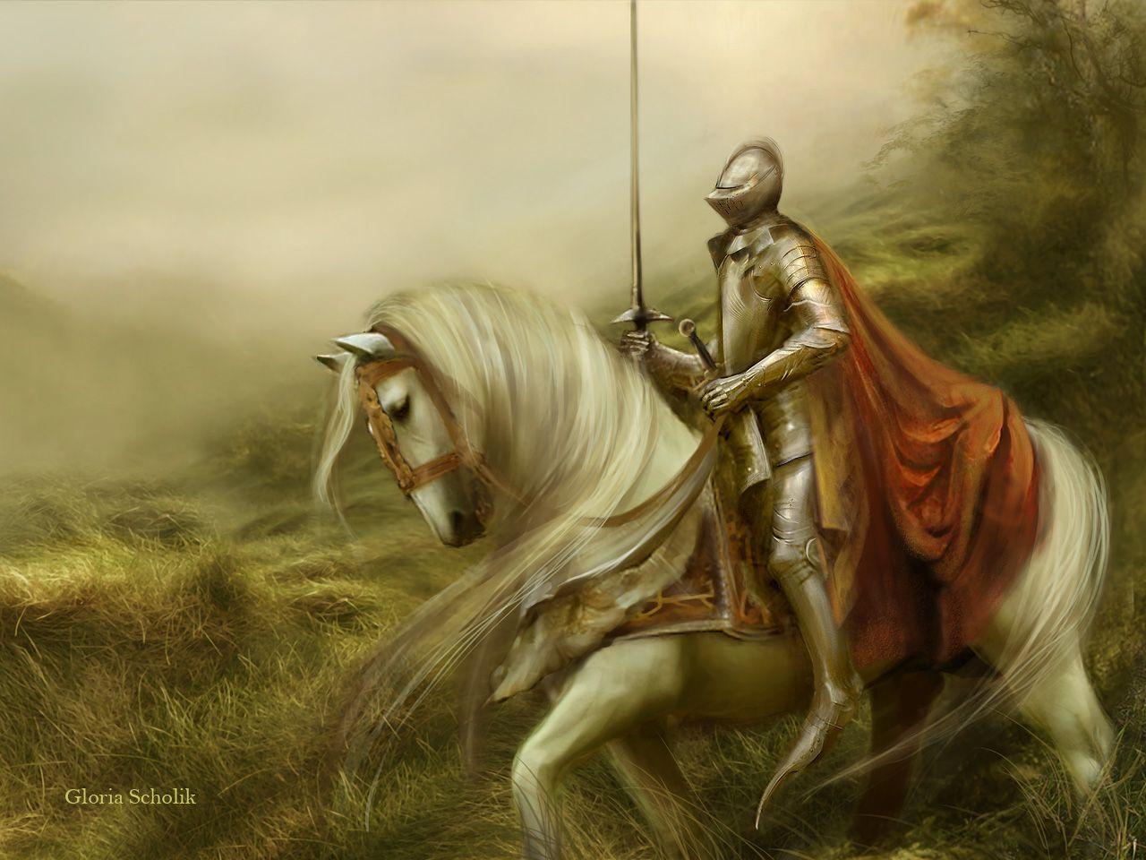 Medieval Knight On Horse Medieval Knight On Horse