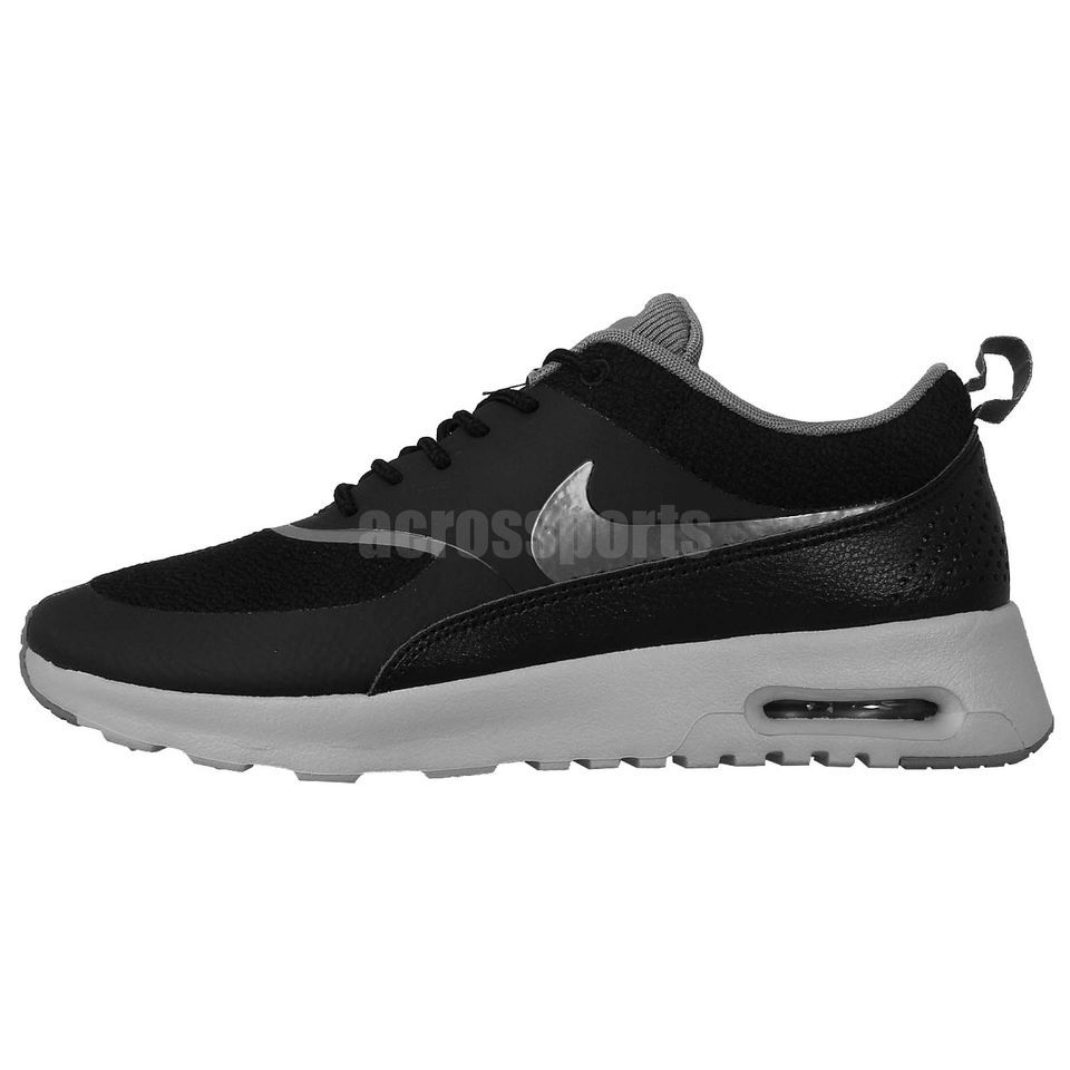 sports shoes b4c26 b86bf ... italy nike wmns air max thea black silver grey 2014 womens running shoes  nsw sneakers check