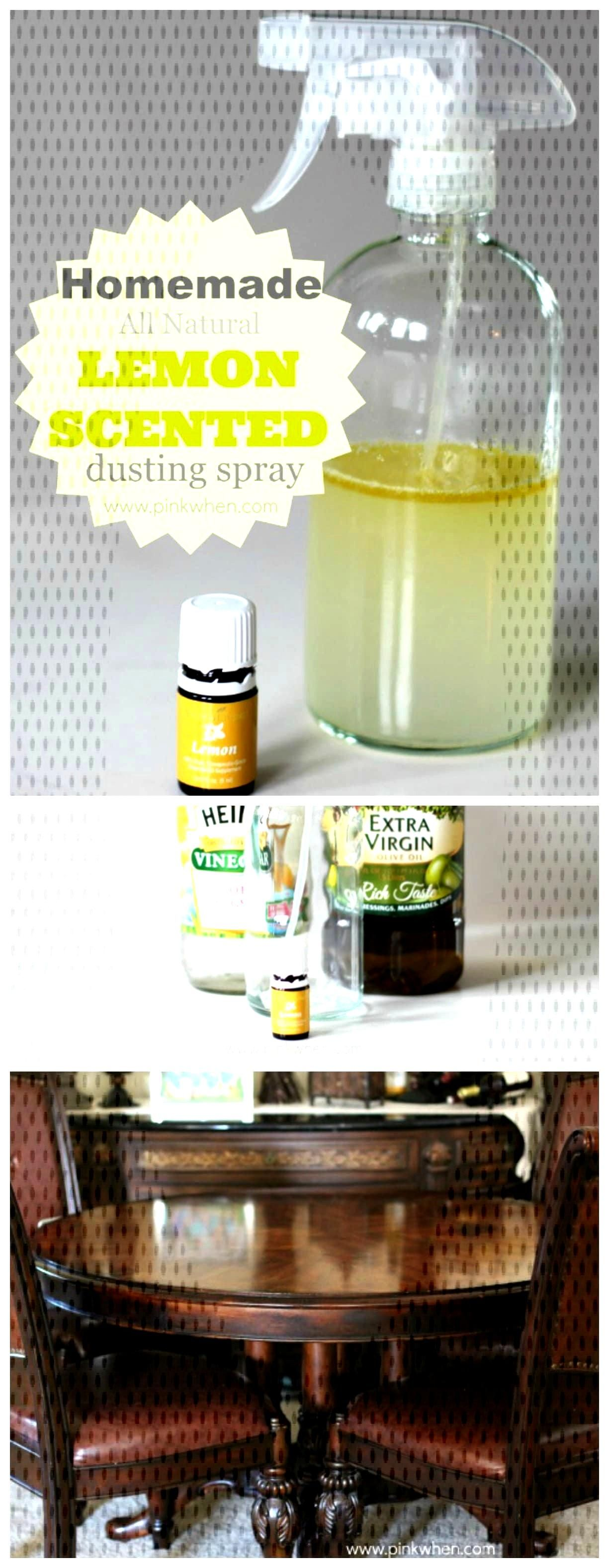 Learn the right combinations to use with your essential oils to make the best homemade lemon scente
