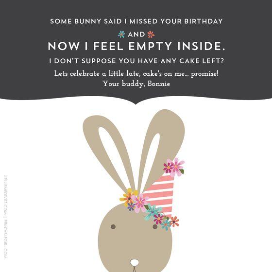 Belated Birthday Designed By Kellie Medivitz