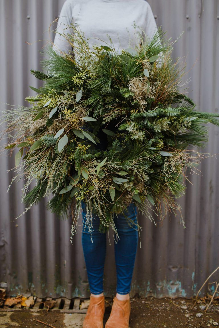 Photo of Christmas Wreaths for delivery in Bristol from Bristol florist The Rose Shed