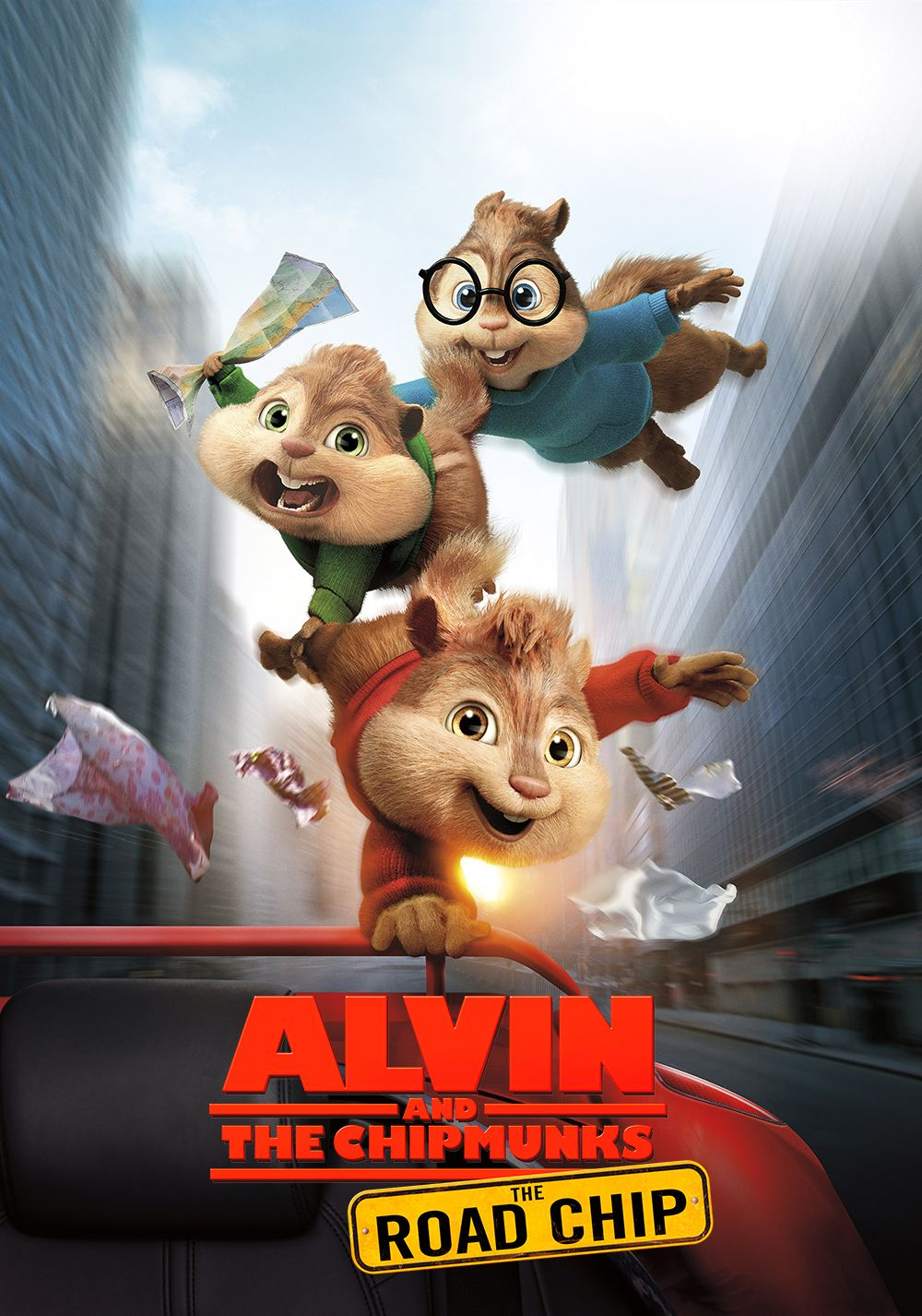 Alvin And The Chipmunks The Road Chip 2015 Boys On The Hood