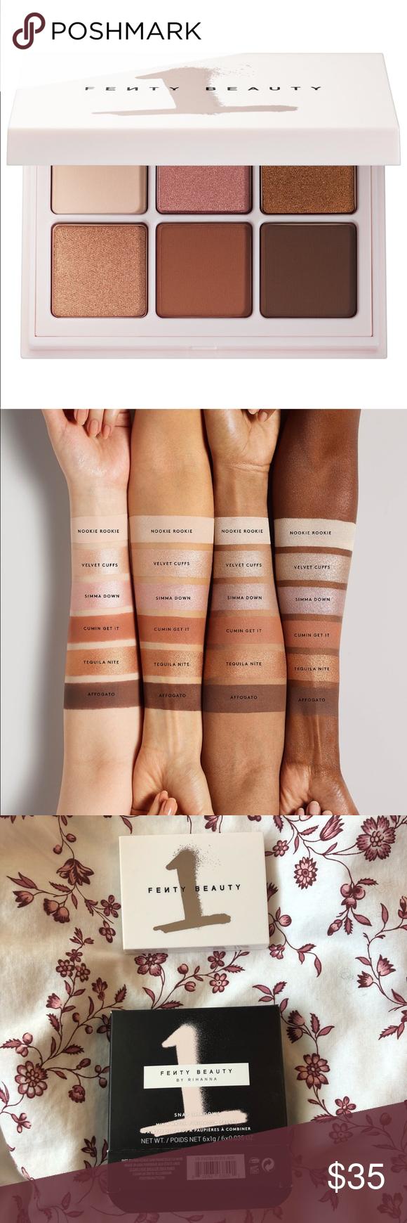 NWT Fenty Beauty Eyeshadow Palette Snap Shadow eye NWT en