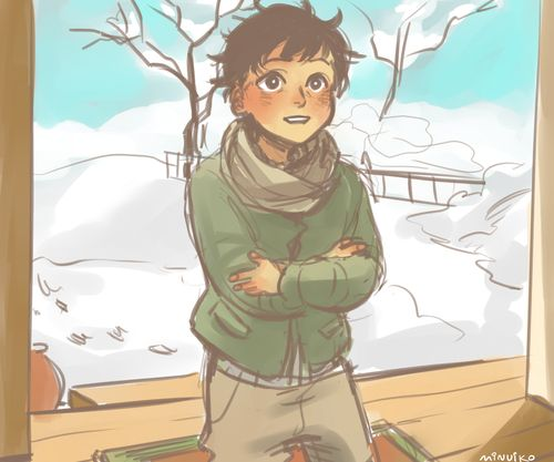 """""""Where's my sister?"""" by Minuiko <--- NO NO NO! My emotions!!! <----- It's cute... But sad. I just wanna HUG him to DEATH! Nico di Angelo, everybody."""