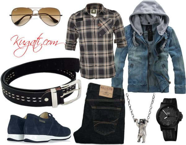 Men style: Casual and cozy - Featuring Webb Black Leather Belt for Men