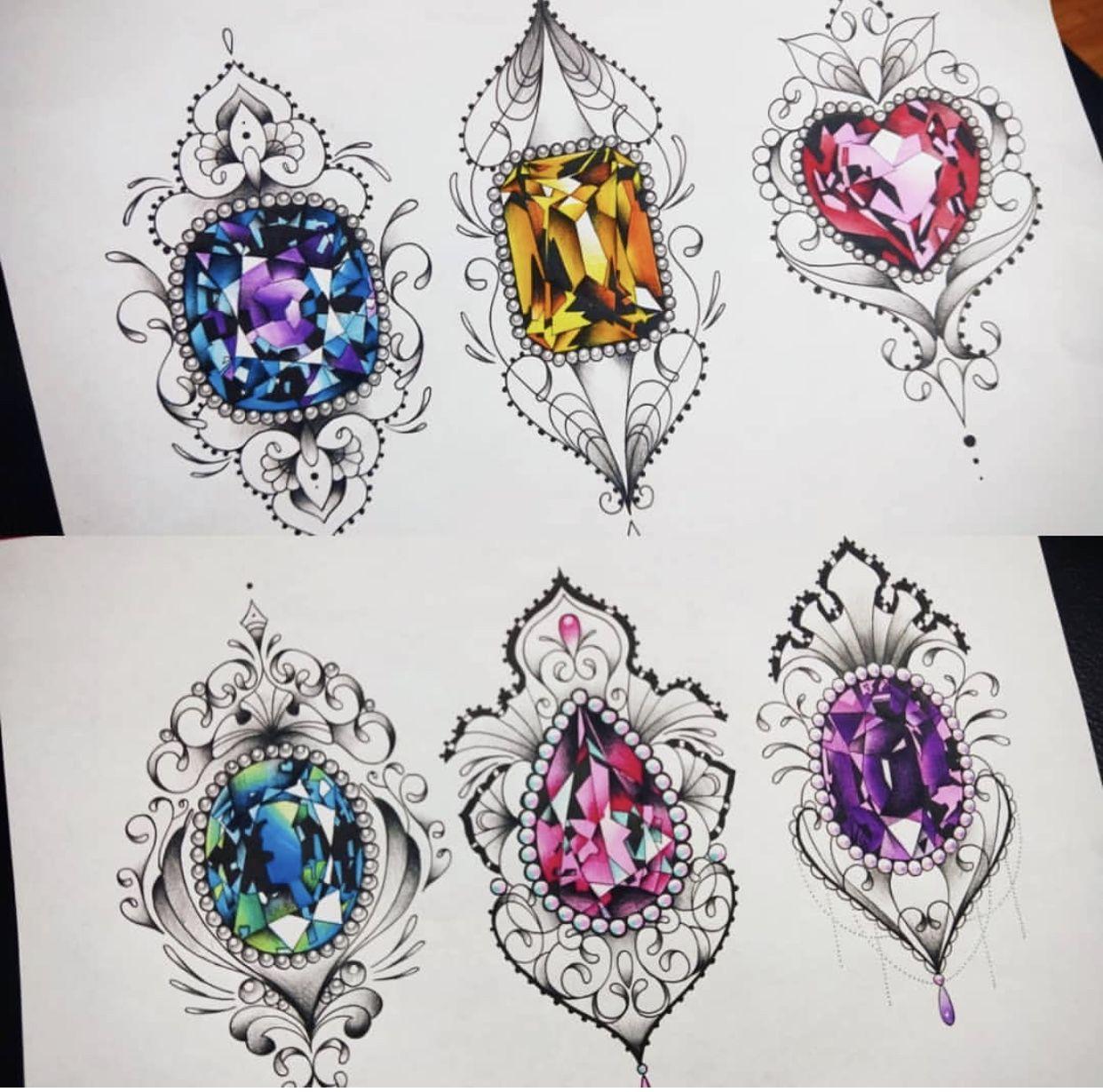 Pin By Kelly Rodrigues Designer Grafi On Leg Sleeve 2 0 Inspiration Gem Tattoo Jewel Tattoo Tattoos For Guys