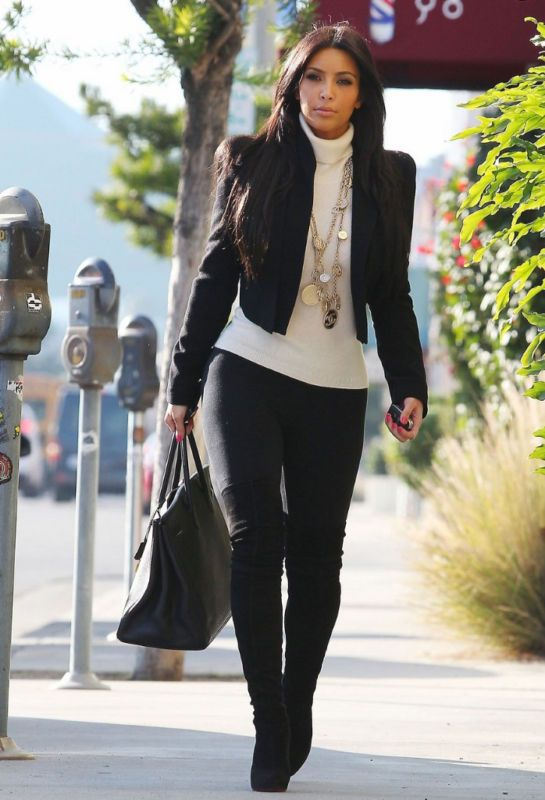 kim kardashian winter style wwwpixsharkcom images