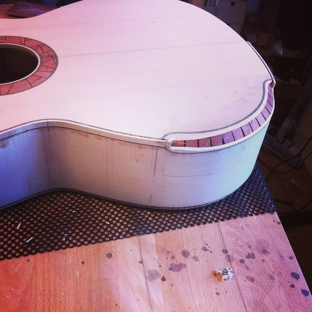 Introduction Of Miss Maple The Acoustic Guitar Forum Guitar Building Luthier Guitar Guitar Design