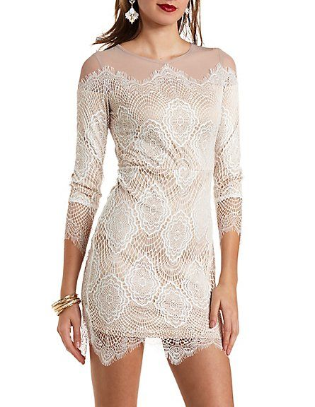 Leopard print russe charlotte dress sleeve long bodycon side