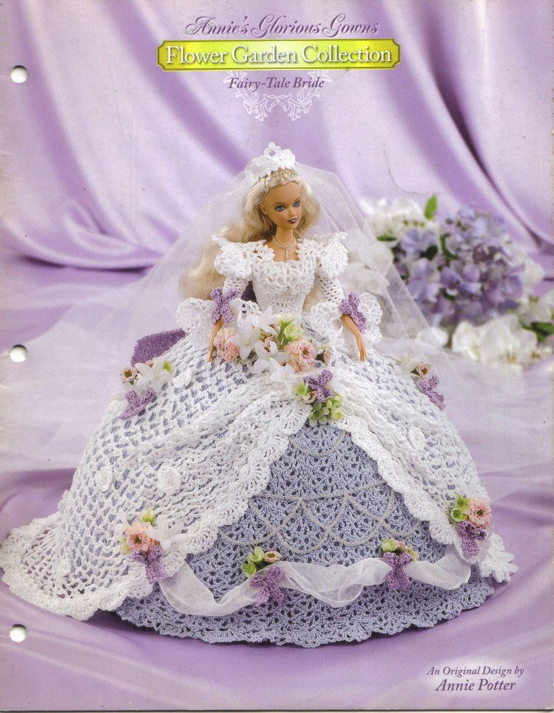 FAIRY-TALE BRIDE FROM ANNIE\'S GLORIOUS GOWNS crochet pattern FLOWER ...