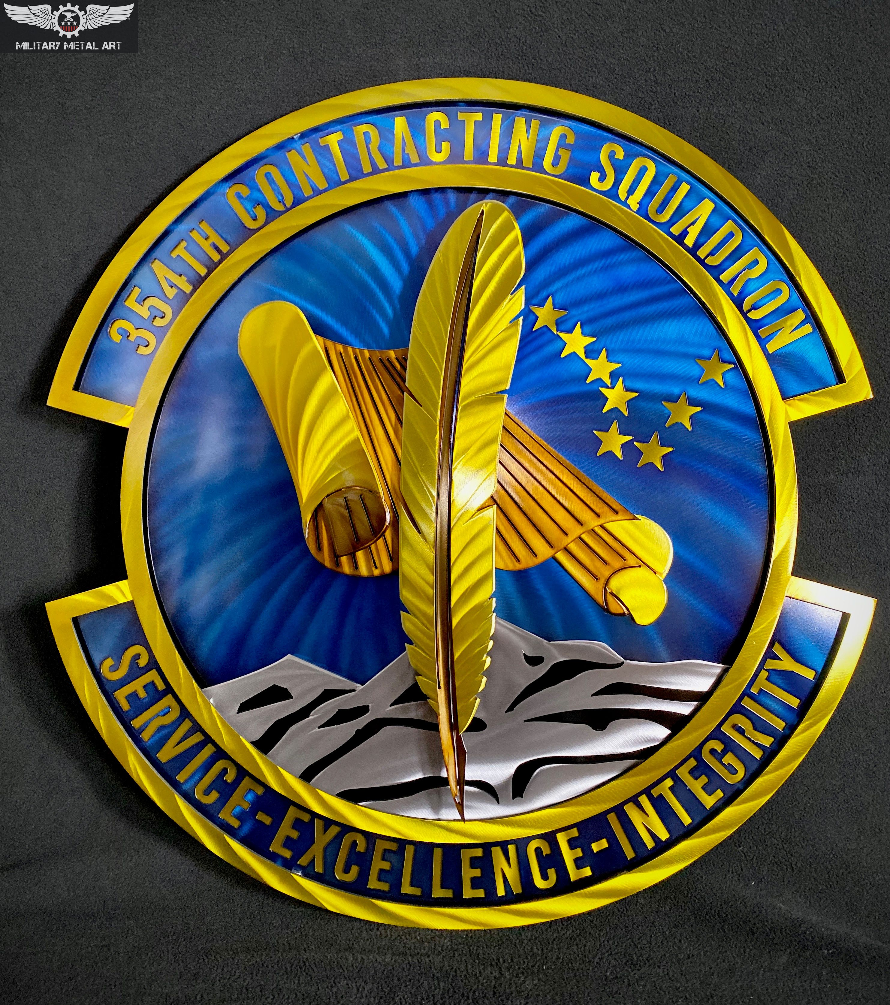 Image result for military metal art