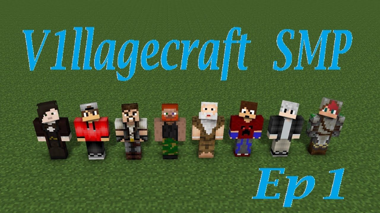 V1llagecraft - Ep 1 Welcome to Spawn