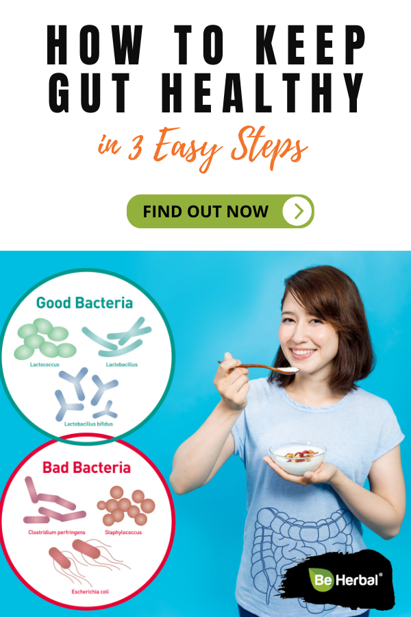 Healing the gut with food can have a massive impact on your health and well-being. Learn here 3 easy steps to fall in love with your gut again. #holistichealth #naturalhealthcare #healthylifestyletips