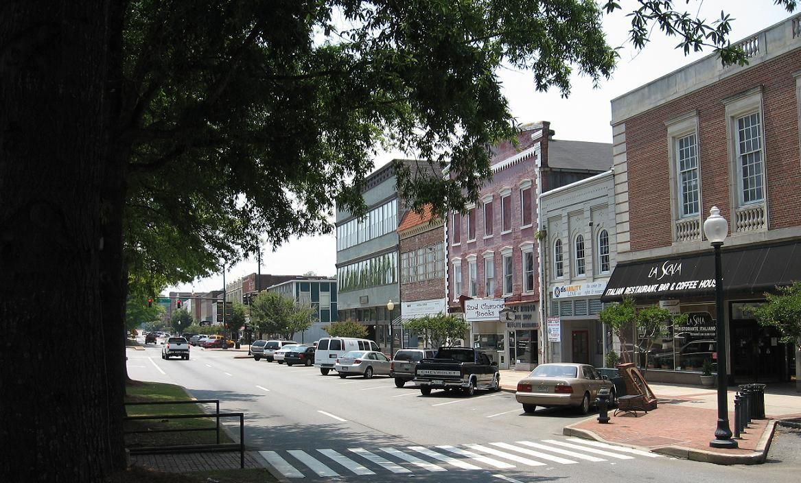 Broad Street In Rome GA Was Chosen As One Of The Best Main Streets