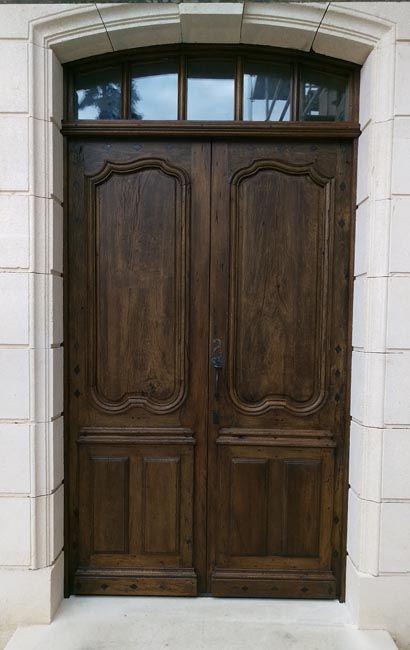 exemple de restauration du0027une porte du0027entrée ancienne en chêne 2