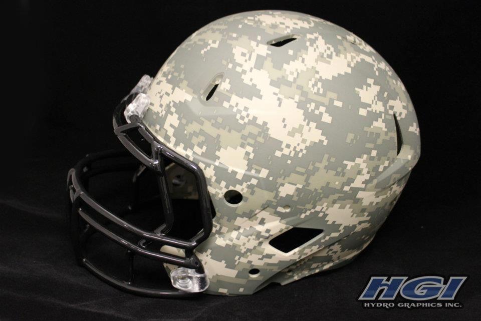 Army Digital Camo Football Helmet Evwarlords Football Helmets Army Vs Navy Football Indiana Football
