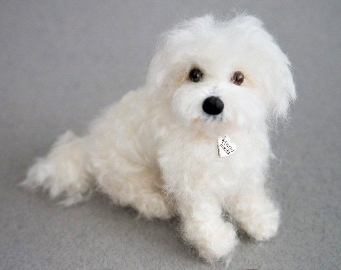 Needle felted custom pet portraits. Dogs von