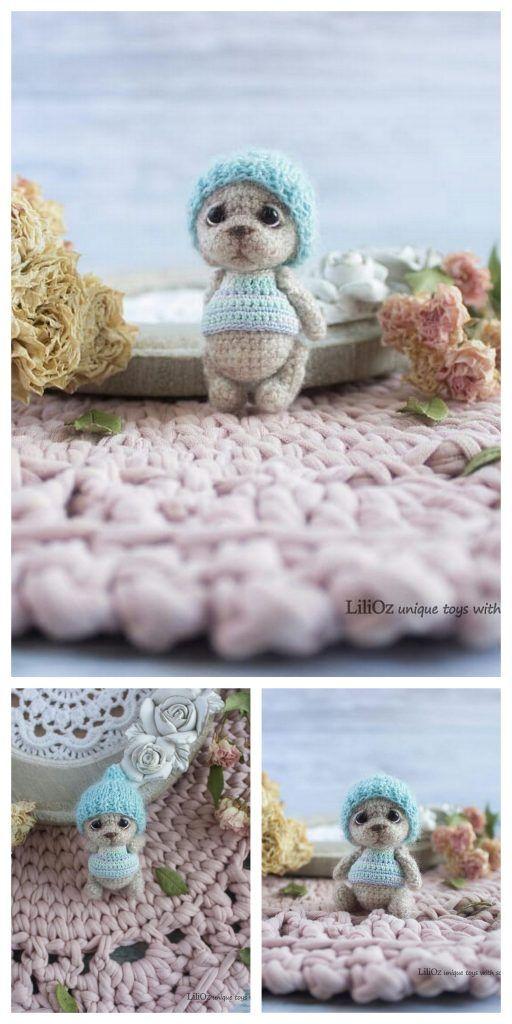 Amigurumi Tiny Teddy Bear Free Pattern – Amigurumi