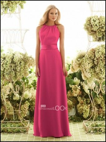 Fuschia Pink Dress For Wedding