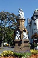 Märchenbrunnen im Zoo-Viertel.