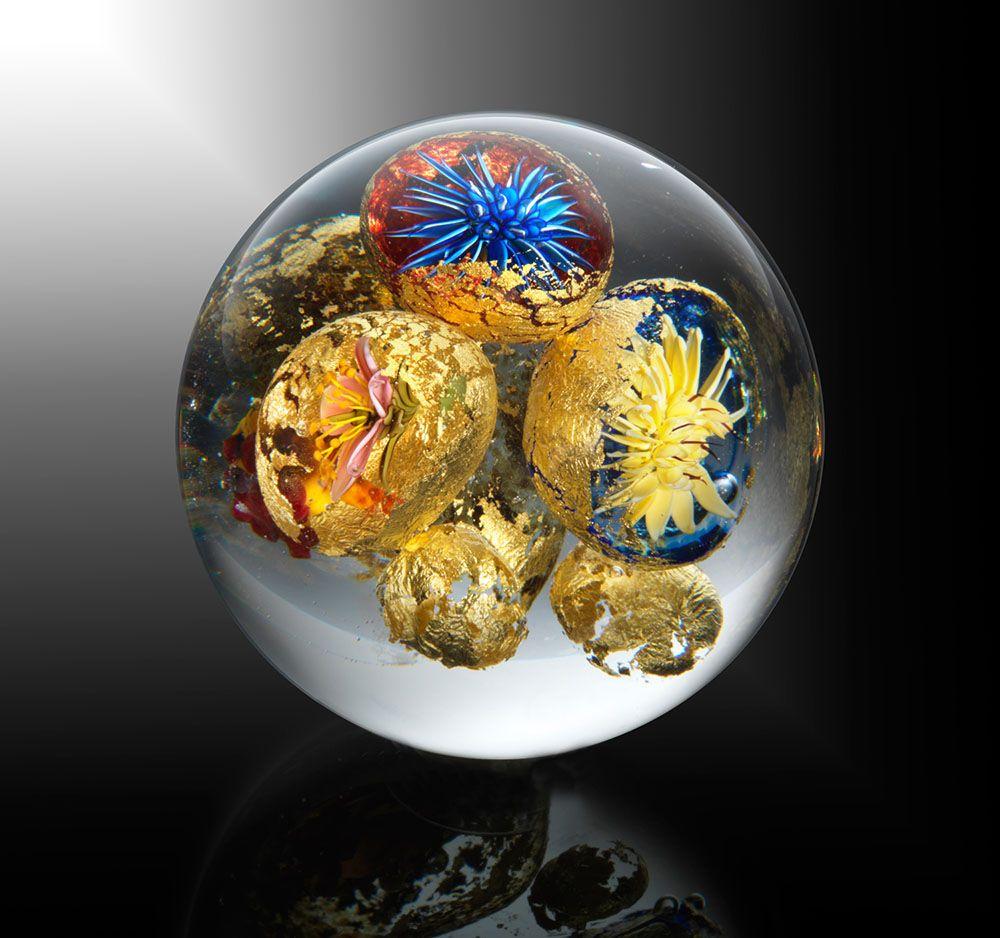 Beauty Beyond Nature: Stunning Artistic Glass Paperweights by Paul J. Stankard