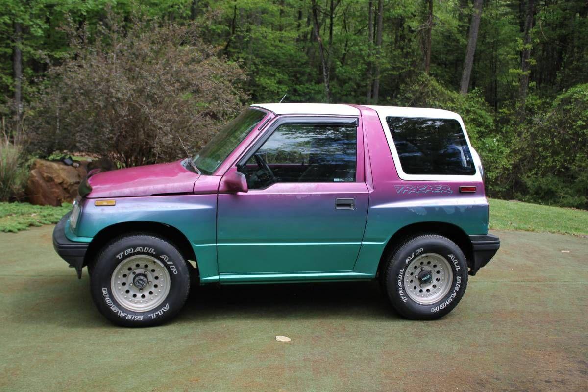 I Love The Color Iridescent Geotracker 4x4 Pretty Cars Cute