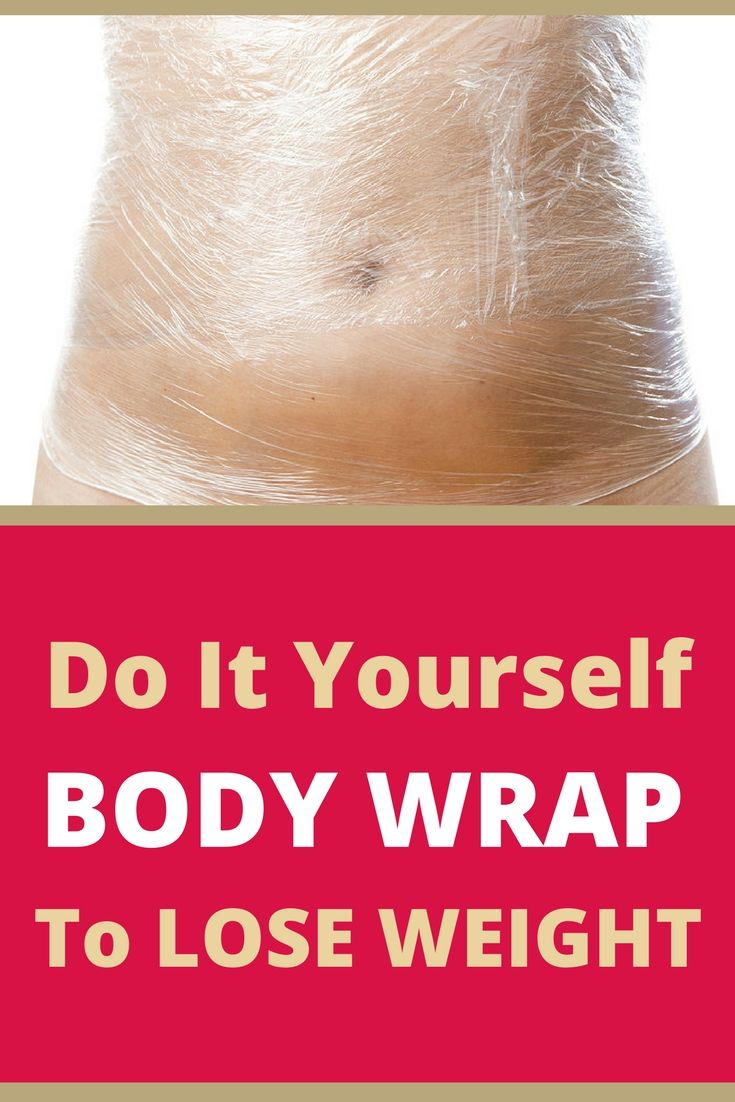 Do It Yourself Body Wrap to Lose Weight