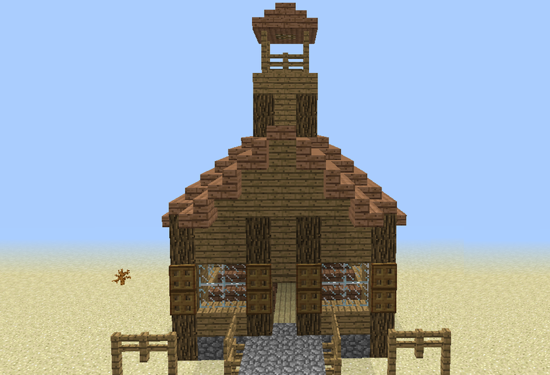 Wild west church grabcraft your number one source for wild west church grabcraft your number one source for minecraft buildings blueprints malvernweather Images