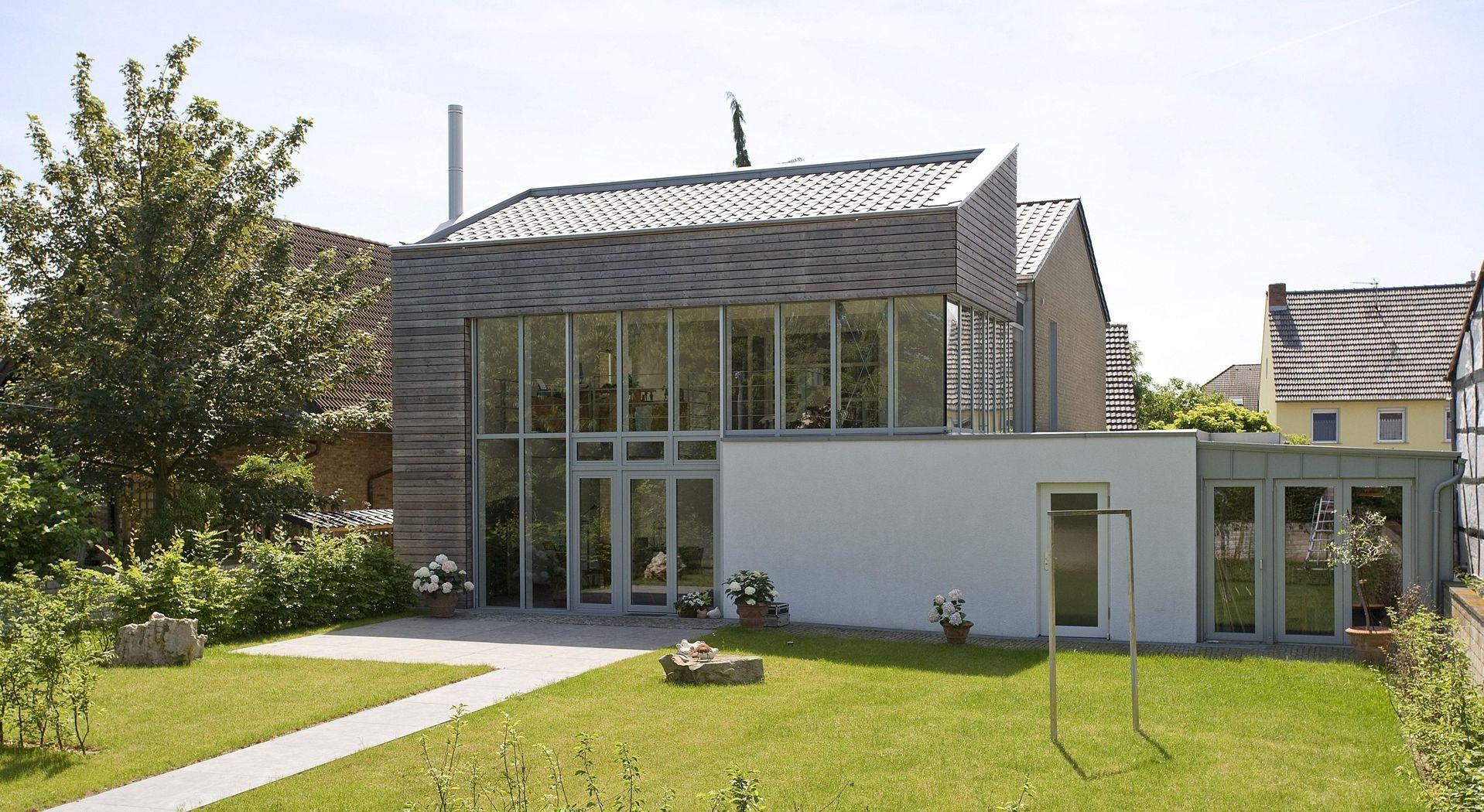 Liebenswert Holz Anbau Haus Foto Von Dass Er Den Wintergarten Seines Es Abreißen