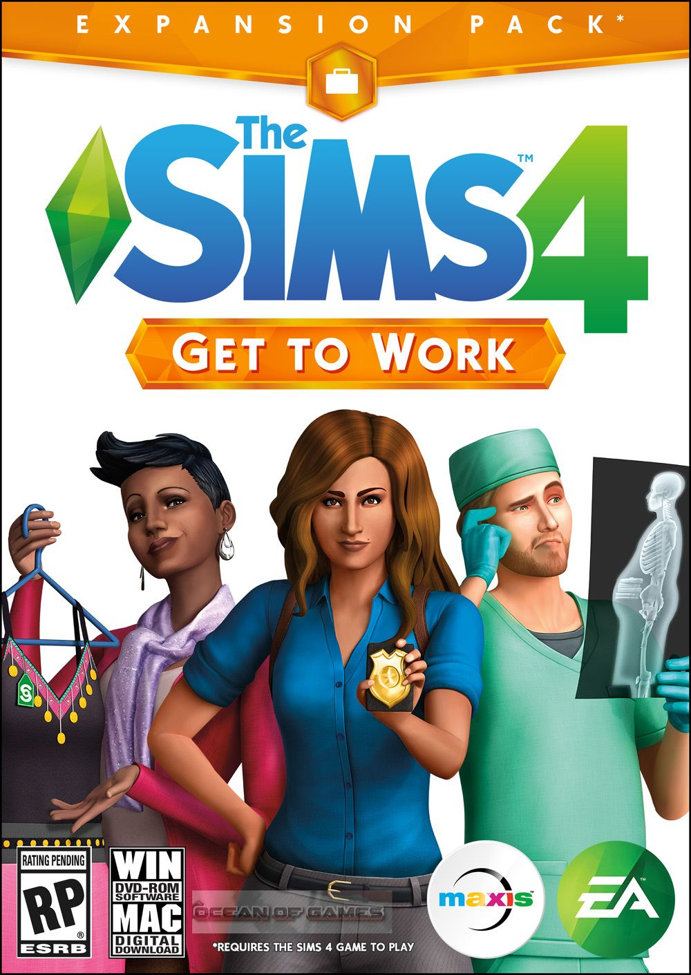 The Sims 4 Get To Work Free Download Sims 4 Expansions Sims 4 The Sims 4 Packs