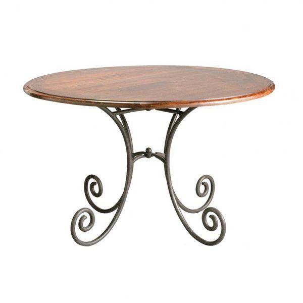 BureauxMeubles Tables À Et DînerRonde Bois Appart Table nwPk0O