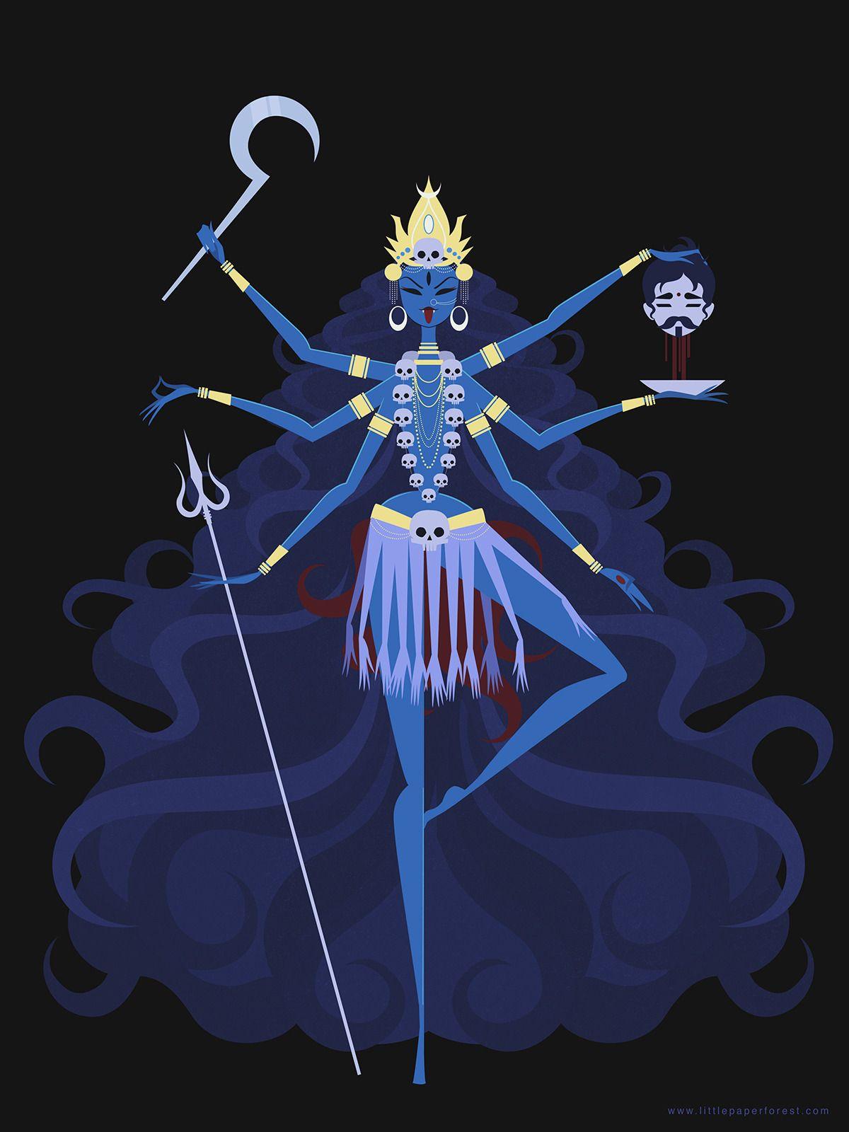 Danielwamba Kali Diosa Kali Dibujos Divino Femenino