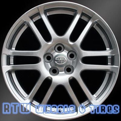Scion TC Factory Wheel Original OEM Rim 40 Size 40x40 Silver Beauteous Scion Bolt Pattern