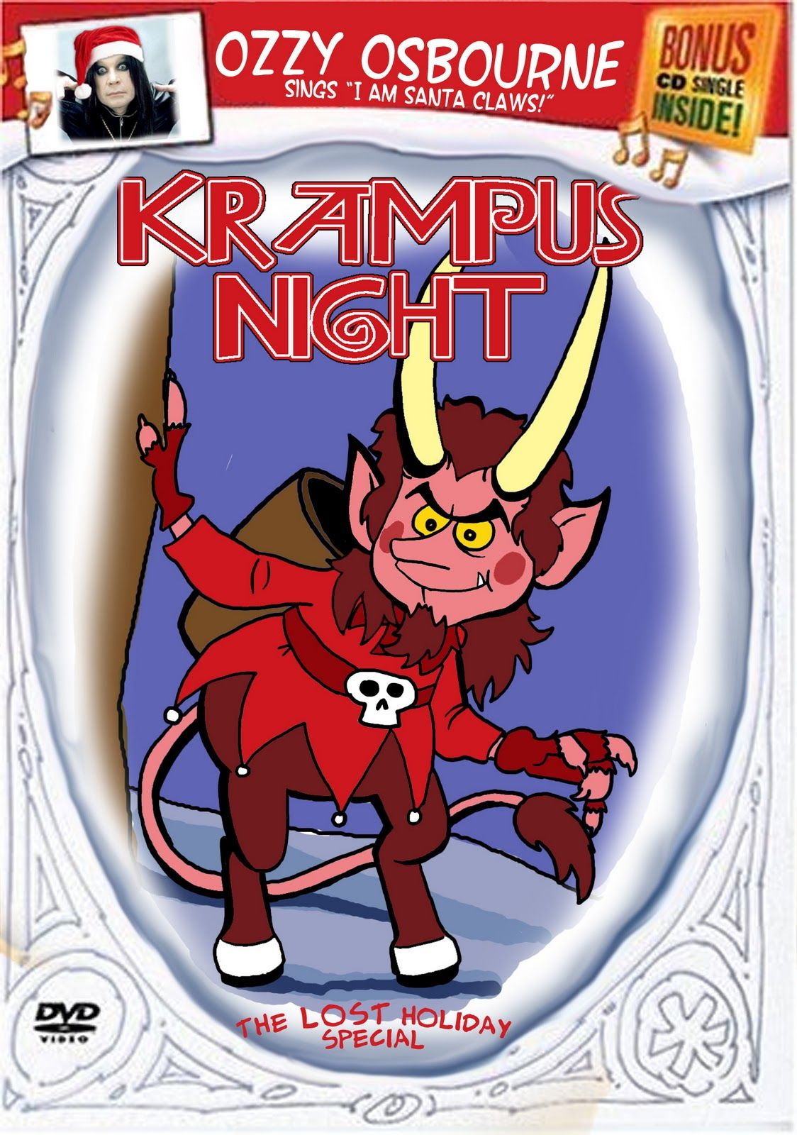 Krampus Night is almost impossible to find with Rankin Bass ...