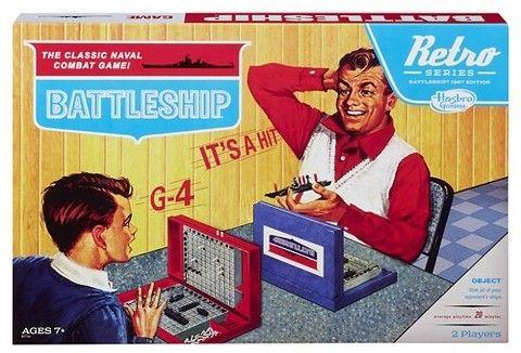 Battleship Game Retro Series 1967 Edition Classic Board Games