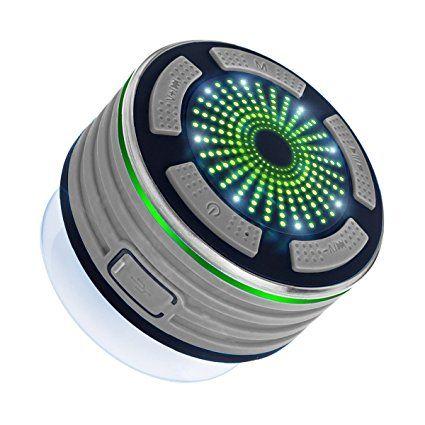 Ipx7 Wasserdicht Bluetooth Lautsprecher Expower Tragbarer Outdoor Lautsprecher Mit 5w Stereo Subwoofer Und Saugna Bluetooth Lautsprecher Lautsprecher Bluetooth