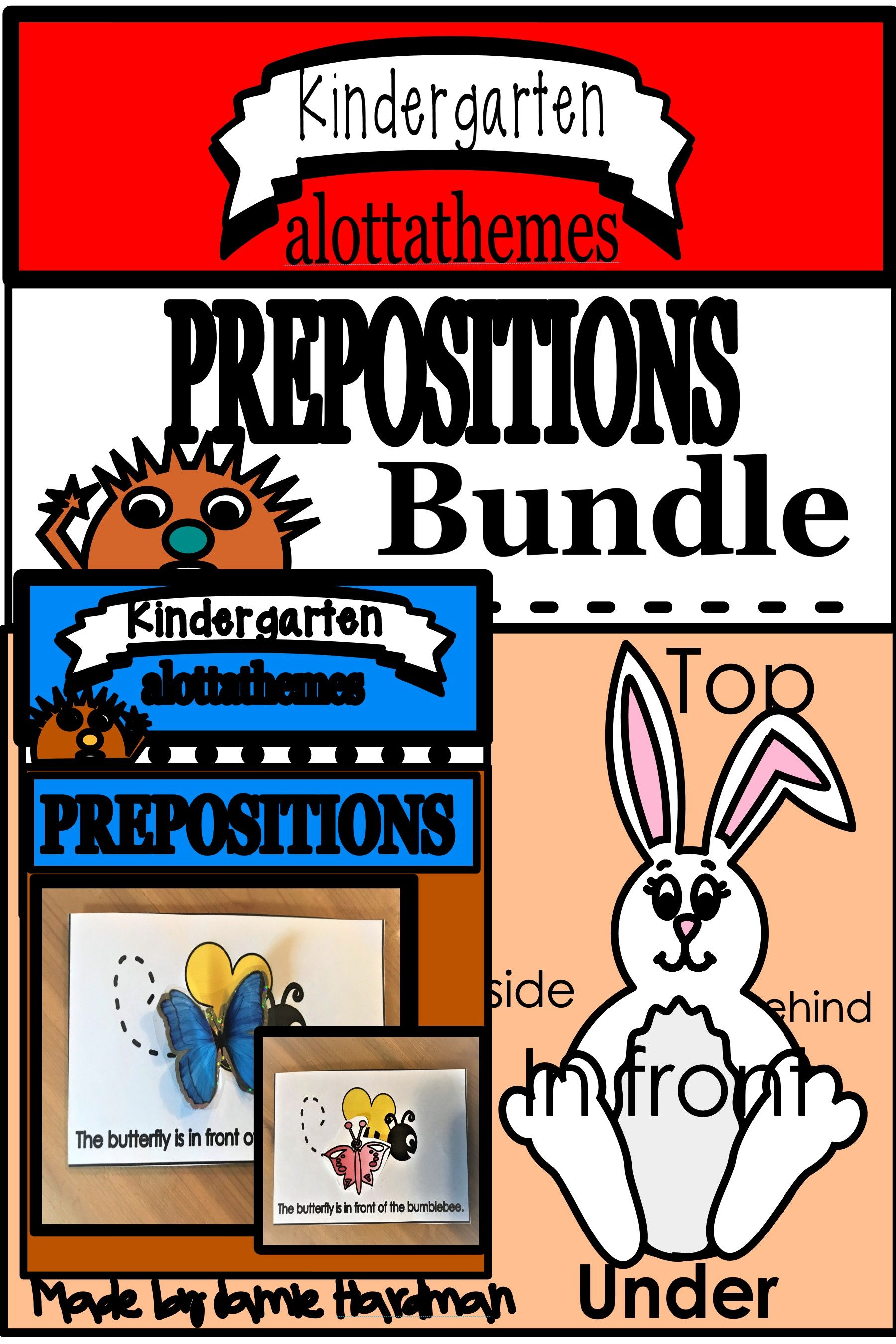 Prepositions Bundle