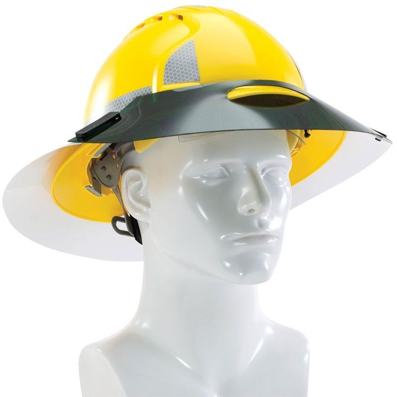 ML Kishigo 2873 2874 Enhanced Visibility Full Brim Hard Hat Sun Shield 39300bae0bf1