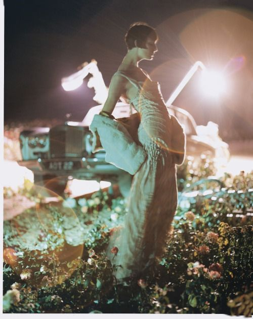 BRITISH VOGUE | Erin O'Connor photographed by Tim Walker for the...