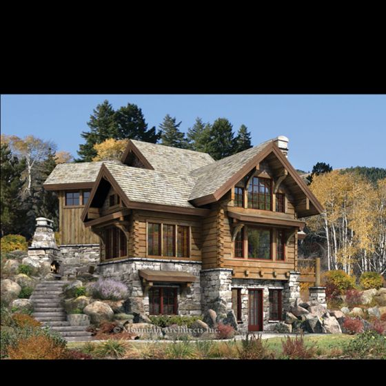 Awesome House | Log homes, Log cabin plans, Luxury log cabins